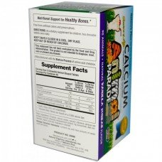 Нейчърс Плюс - Калций за Деца 90 дъвчащи таблетки,   Nature's Plus - Animal Parade Calcium , 90 tabs