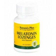 Нейчърс Плюс - Мелатонин от 3 мг 60  таблетки,   Nature's Plus - Melatotin , 60 tabs