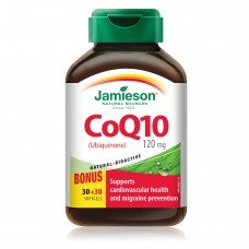 ДЖЕЙМИСЪН Коензим Q10 120 mg  60 капсули , JAMIESON -  CoQ10