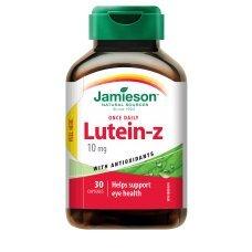 ДЖЕЙМИСЪН Лутеин за подобряване на зрението  30  капсули , JAMIESON Lutein