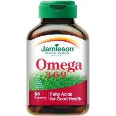 ДЖЕЙМИСЪН -  Омега 3-6-9 80  капсули , JAMIESON -  Omega 3-6-9  80  Caps.