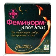 ФЕМИНОРМ ЛЕКА НОЩ 30 капсули, FEMINORM GOOD NIGHT