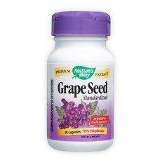 Нейчърс Уей  - Гроздово семе, 300 mg  30 капсули , Nature's Way Grape Seed