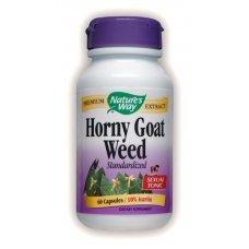 Нейчърс Уей  - Епимедиум/ Разгонен козел, 500 mg  60 капсули , Nature's Way Horny Goat Weed
