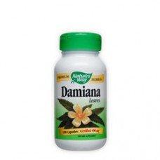 Нейчърс Уей  - Дамиана (лист), 400 mg 100 капсули , Nature's Way Damiana