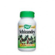Нейчърс Уей  - Шизандра (плод), 580 mg 100 капсули , Nature's Way  Schizandra Fruit