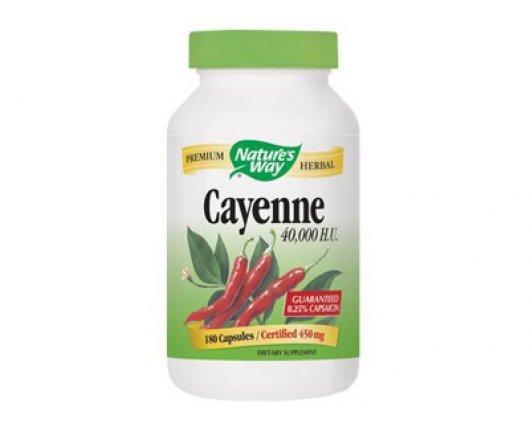 ЛЮТ ЧЕРВЕН ПИПЕР за отслабване 100 капсули, Cayenne Pepper