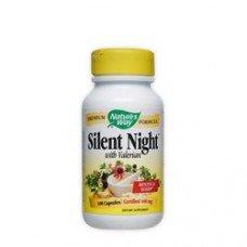 Нейчърс Уей  - Спокойна нощ, 440 mg 100 капсули , Nature's Way  Silent Night