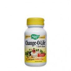 Нейчърс Уей  -Чейндж-о-лайф, 440 mg  100 капсули , Nature's Way  Change - O - Life