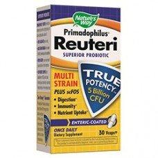 Нейчърс Уей  - Примадофилус Reuteri 276 mg, 30 таблетки, Nature's Way  Primadophilus Reuteri