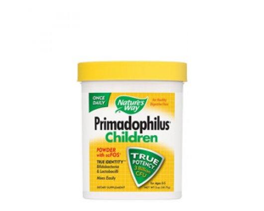 Нейчърс Уей  - Пробиотик на прах Примадофилус за бебета и деца 141.75 g Nature's Way  Primadophilus Children