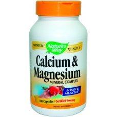 Нейчърс Уей  - Калций и магнезий, 250 mg 100 капсули , Nature's Way  Calcium and Magnesium