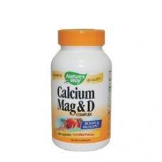 Нейчърс Уей  - Калций, магнезий и витамин D, 250 mg 100 капсули , Nature's Way  Calcium, Magnesium and Vitamin D