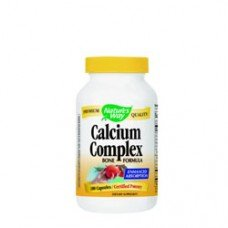 Нейчърс Уей  -Калциев комплекс, 500 mg 100 капсули , Nature's Way  Calcium Complex