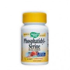 Нейчърс Уей  - Фосфатидилсерин, 500 mg 30  капсули , Nature's Way  Phosphatidyl - Serine