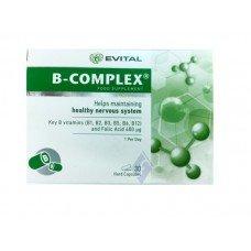 ЕВИТАЛ Б - КОМПЛЕКС 30 капсули, EVITAL B – COMPLEX