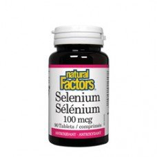 Нейчъръл Факторс Селен 100 mcg  90 капсули , Natural Factors Selenium