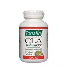 Нейчъръл Факторс  - Тоналин Кла 1 000 mg  90 софтгел капсули , Natural Factors  Tonalin Cla