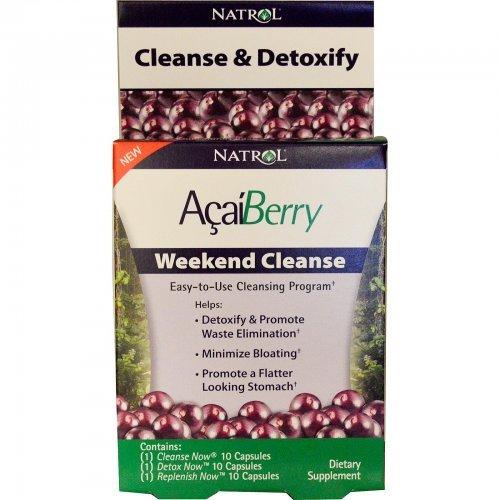 Natrol AçaíBerry Weekend Cleanse 30tabs , Акай..