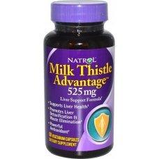 Natrol Milk Thistle Advantage 60 caps, Мощен протектор за черния дроб