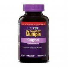 Natrol My Favorite Multiple 180 caps , 23 витамина и минерала