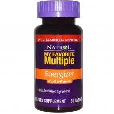 Natrol My Favorite Multiple Energizer 60 tabs, Формула богата на Зелени храни