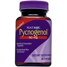 Natrol Pycnogenol 50mg 30 caps, Укрепва имунната система