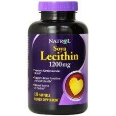 Natrol Soya Lecithin 1200mg 120 tabs,Холестерол и триглицериди в норма
