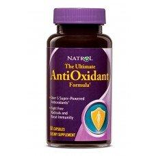 Natrol Ultimate Antioxidant Formula 60 caps, Богат на билкови екстракти, витамини и минерали