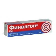 ФИНАЛГОН маз с противовъзпалително и обезболяващо действие 20гр., FINALGON