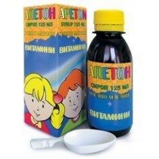 АПЕТОН сироп с витамини и пчелно млечице 125мл., APETON