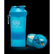 SmartShake Neon Blue, шейкър