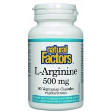 Нейчъръл Факторс  - Л-Аргинин 500 mg х 90 V капсули
