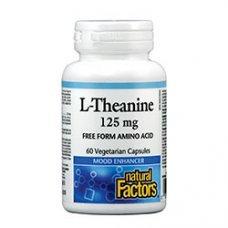 Нейчъръл Факторс  - Л-Теанин 125 mg x 60 V капсули