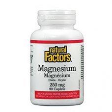 Нейчъръл Факторс  - Магнезий (оксид) 250 mg х 90 каплети
