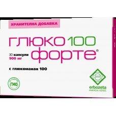 ГЛЮКО 100 ФОРТЕ 900мг Х 30 капсули
