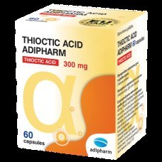 ТИОКТИК АЦИД Адифарма 60 капсули, THIOCTIC ACID