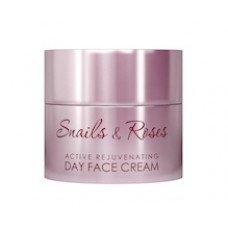 РЕВИВ РОЗА И ЕКСТРАКТ ОТ ОХЛЮВ ДНЕВЕН КРЕМ 50мл., REVIVE SNAILS EXTRACT Snails & Roses Active Rejuvenating Day Cream