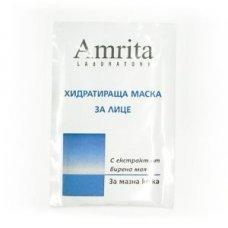 АМРИТА МАСКА ХИДРАТИРАЩА С БИРЕНА МАЯ ЗА МАЗНА КОЖА 10мл., AMRITA