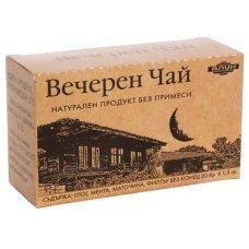 ВЕЧЕРЕН ЧАЙ филтър 20 бр. /глог,мента,маточина/ АЛИН
