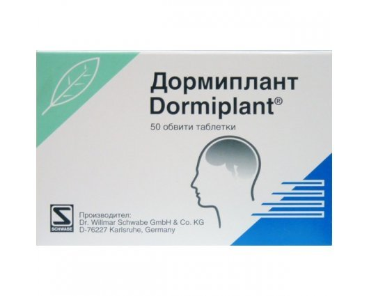 ДОРМИПЛАНТ 50 обвити таблетки, DORMIPLANT