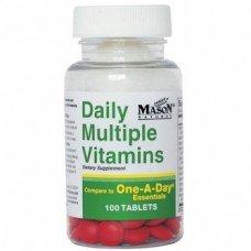 Мейсън - Мултивитамини MASON  100 таблетки, Mason - Multivitamins