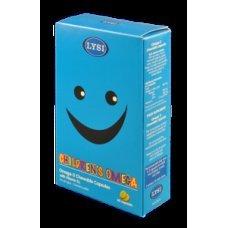 ЛИЗИ ОМЕГА 3 ДЪВЧАЩИ 60 капсули с витамин D за деца, LYSI OMEGA 3