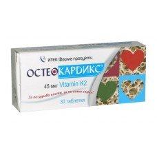 ОСТЕОКАРДИКС 30 таблетки, OSTEOCARDIX
