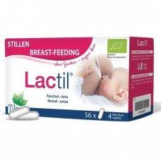 ЛАКТИЛ за увеличаване на кърмата 56 капсули, Lactil