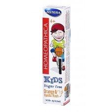 АСТЕРА Кидс 4+ Хомеопатична паста за зъби 50мл., ASTERA Kids