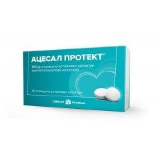 АЦЕСАЛ ПРОТЕКТ 100мг 40 таблетки, Acesal Protect