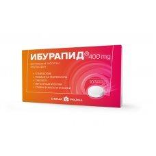 ИБУРАПИД 400мг. 10 таблетки, Iburapid