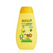 БОЧКО Детски шампоан и душ-гел 2в1 с аромат на банан 250мл., BOCHKO