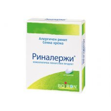 РИНАЛЕРЖИ при алергичен ринит и хрема 60 таблетки, RHINALLERGY